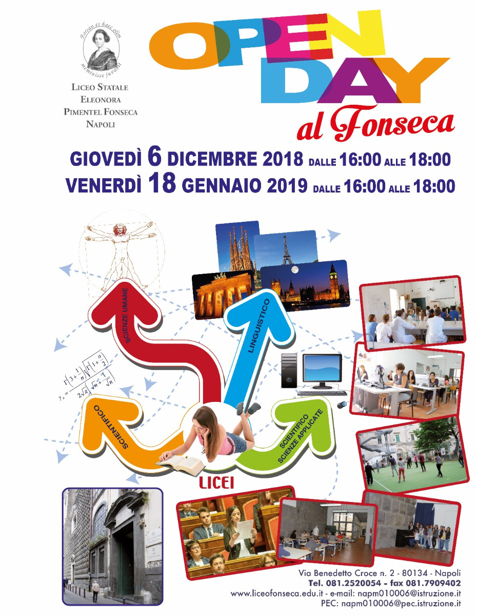 Open Day al Fonseca